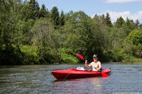 Поход на байдарках по реке ресса